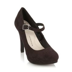 Collection Good for the Sole Black wider fit buckle court shoes from Debenhams. Gorgeous shoes and so so comfortable.