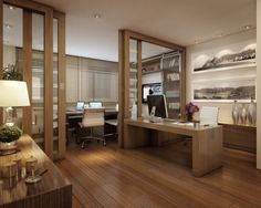 Office decor+mesa+escritório.