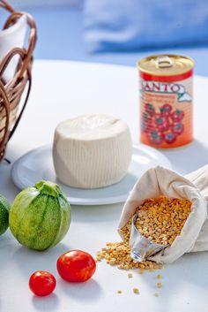 Traditional Santorini Produce
