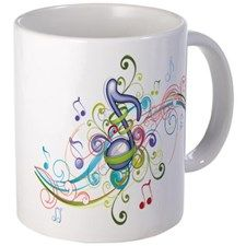 Music in the air Mug for