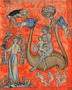 Manuscrit Apocalypse de S. Jean, en français.