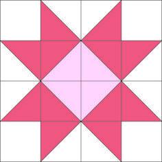 Piece N Quilt: Star Quilt {Block of the Month} Quilt Along ... : evening star quilt block pattern - Adamdwight.com