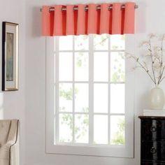 Coral Valance, Bed Bath Beyond Keeco, Llc Newport Grommet Window Curtain