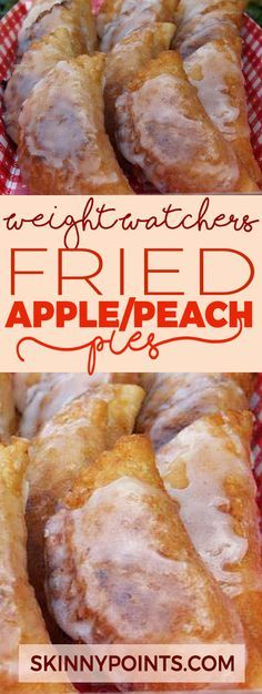 Ingredients 8 ounces dried apples or dried peaches 1 cup water cup sugar 1 tablespoon butter 1 tsp. cinnamon or apple pie spice 1 can jumbo refrigerated flaky biscuits Weight Watcher Dinners, Weight Watchers Diet, Weight Watchers Desserts, Ww Recipes, Apple Recipes, Cooking Recipes, Shake Recipes, Grilling Recipes, Donuts