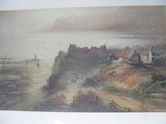 Frederick William Booty (1840- 1924) Coastal scene