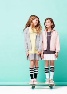 Vestido combinado algodón