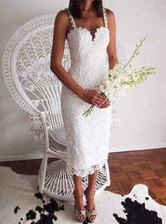 45 AMAZING SHORT WEDDING DRESS FOR VOW RENEWAL