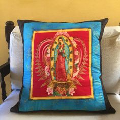 Almofada Nossa Sra de Guadalupe
