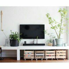 #dekistenkoning #kratje #kist #fruitkist #wood #hout #kistje #krat #storage #tv #wieltjes #tvmeubel #diy