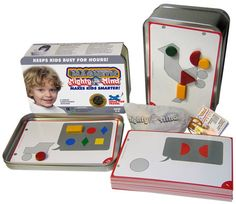 Magnetic MightyMind - $21.95  The ingenuity of MightyMind makes it a stand-out favorite with teachers & child development experts. An activity toy that develops the essential skills every child needs.