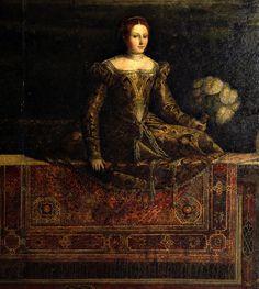 Atlante dell'arte italiana Bonvicino Alessandro, Moretto da Brescia Dame di casa Martinengo, 1543