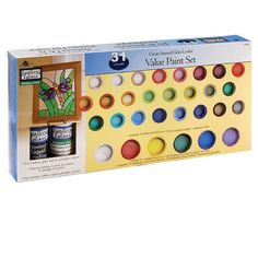 Perfect for gift-giving as a beginner or starter set. Create stained glass looks with these...