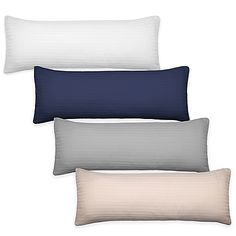 Extend the life of your body pillow with the clean and fresh Bedding Essentials 220-Thread-Count Body Pillow Protector. With a zipper closure, the cover provides your body pillow with ultra-soft comfort and protection for years to come.