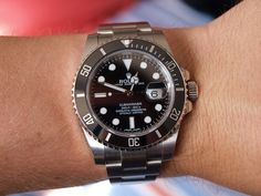 #Rolex Submariner Ceramic 116610LN    like .. repin .. comment :)    http://amzn.to/X1nbG9