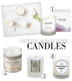 NATURAL & NON TOXIC CANDLES - There's no denying that a scented candle sets the mood in the room. However, there's a danger awaiting those who buy just any candles, particularly if you're an asthmatic like me...