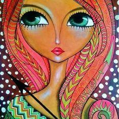 DesertRose,;,a beautiful lady painting,;,