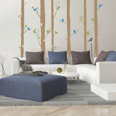 You'll love the Woodland Sparrows Wall Decal at AllModern - With Great Deals on modern Décor  products and Free Shipping on most stuff, even the big stuff.