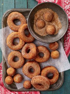 This recipe for Maine potato doughnuts has stood the test of time! Photo: Heath Robbins