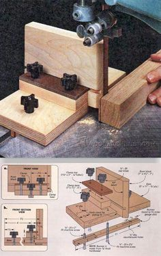 DIY Bandsaw Resaw Jig - Band Saw Tips, Jigs and Fixtures | WoodArchivist.com