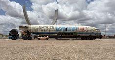 Blog Paulo Benjeri Notícias: Carreta transportando avião surpreende motoristas ...