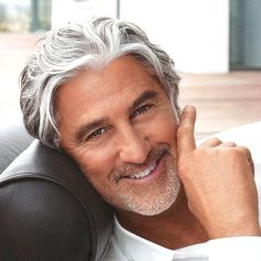 Older Men's Long Hairstyles- Brushed Back Top The post Older Men's Long Hairstyles- Brushed Back Top appeared first on frisuren. Best Haircuts For Older Men, Older Mens Long Hairstyles, Cool Mens Haircuts, Winter Hairstyles, Hairstyles Haircuts, Trendy Hairstyles, Man Haircuts, Stylish Haircuts, Old Man Haircut