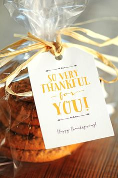 Free Thanksgiving Gift Tags & Note Card Printables for sharing Thanksgiving…