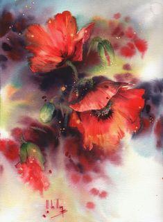 Watercolor Loose 500 Ideas In 2020 Watercolor Watercolor Flowers Watercolor Art