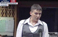 Ukrajinská národná hrdinka Naďa Savčenková vystúpila s dvojminútovým prejavom na zasadnutí Parlamentného zhromaždenia Rady Európy v Štrasburgu. Urobila nečakaný objav: Rusko na povel Putina kradne Ukrajincov a Krymských Tatárov.