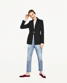 ZARA - WOMAN - TAILORED JACKET WITH TWIN BUTTONS