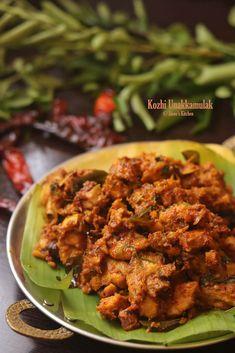 Kozhi Unakkamulak recipe   spicy chicken fry recipe Chicken