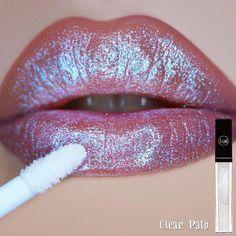 Holographic Lip Cream in the shade Lipstick Swatches, Lipsticks, Holographic Makeup, Make Me Up, How To Make, Lip Cream, Lip Service, Lip Art, War Paint