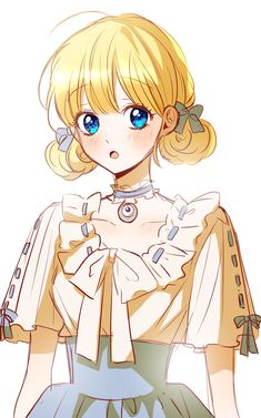 Blonde Anime Girl, Anime Girl Hot, Kawaii Anime Girl, Manga Girl, Anime Art Girl, Manhwa, Bleach Couples, Anime Prince, Manga Drawing Tutorials