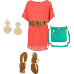 Coral is gorgeous for spring!