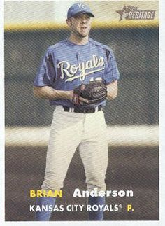 2006 Topps Heritage Baseball #439 Brian James Anderson MLB Trading Card by Topps Heritage. $1.99. 2006 Topps Co. trading card in near mint/mint condition, authenticated by Topps Collectibles