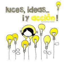 Bendecida por las lucecitas que encendéis en mi camino (y mi corazón). Entusiasmada con la fuerza de tus ideas que se entrelazan con las mías. Inspirada para sentir, Ser y seguir... ¡p´alante! Luces, ideas... ¡y acción! Eeeeeegunon mundo!!
