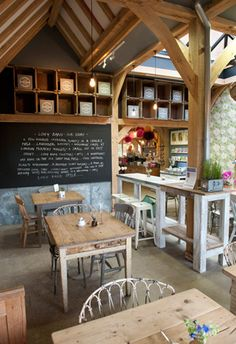 www.jodhpurtrends.com #restaurantfurniture #india Cafe at Long Barn Lavender Farm Nr Winchester