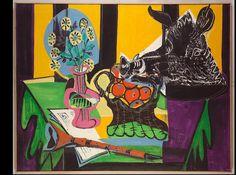 Emil Filla | Zátiší skančí hlavou, 1949