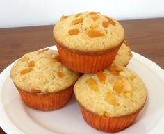 Food Lust People Love: Double Mango Muffins for #MuffinMonday