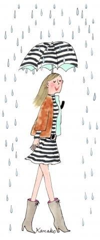 Aud in the rain... The boots!