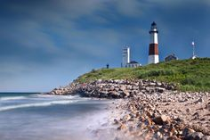 New York; Ditch Plains Beach  This refreshingly laid-back enclave in Montauk is a far cry from the glitzy beaches of East Hampton. Come for the iconic lighthouse and scenic cliffs. Stay for the stellar surfing and a pressed sandwich from Ditch Witch food truck.