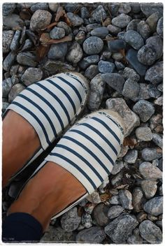 Nautical espadrilles