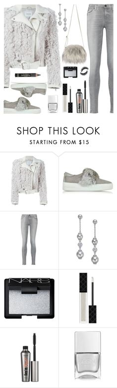"""FAUX FUR"" by deborah-calton ❤ liked on Polyvore featuring Dagmar, Michael Kors, 7 For All Mankind, Kate Spade, NARS Cosmetics, Gucci, Benefit, L'Oréal Paris and Nails Inc."