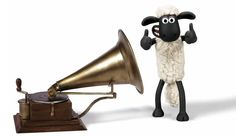 The famous HMV logo gets a Shaun update to celebrate the release of Shaun the Sheep The Movie on DVD and Blu-ray!