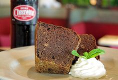 cheerwine chocolate pound cake from lucky 32