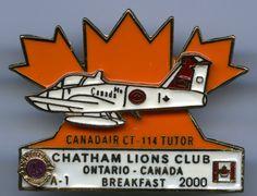 Lions Club - Chatham, Ontario - 2000 - Canadair CT-114 Tutor