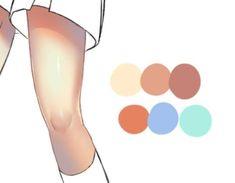 Digital Painting Tutorials, Digital Art Tutorial, Art Tutorials, Drawing Reference Poses, Drawing Poses, Drawing Tips, Coloring Tutorial, Anime Drawings Sketches, Drawing Techniques