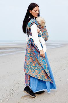 Artipoppe Argus Sunset. Wrap Lab & Exclusives - Artipoppe www.artipoppe.com #babywearing #motherhood #luxury