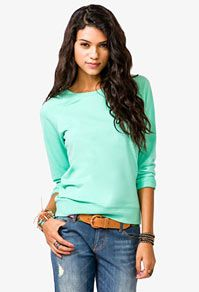 knit pullover; forever21; $15.80
