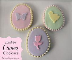 Easter Cameo Cookies!