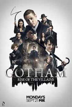 Gotham First Look: Season 2 Poster Teases 'Rise of the Villains'